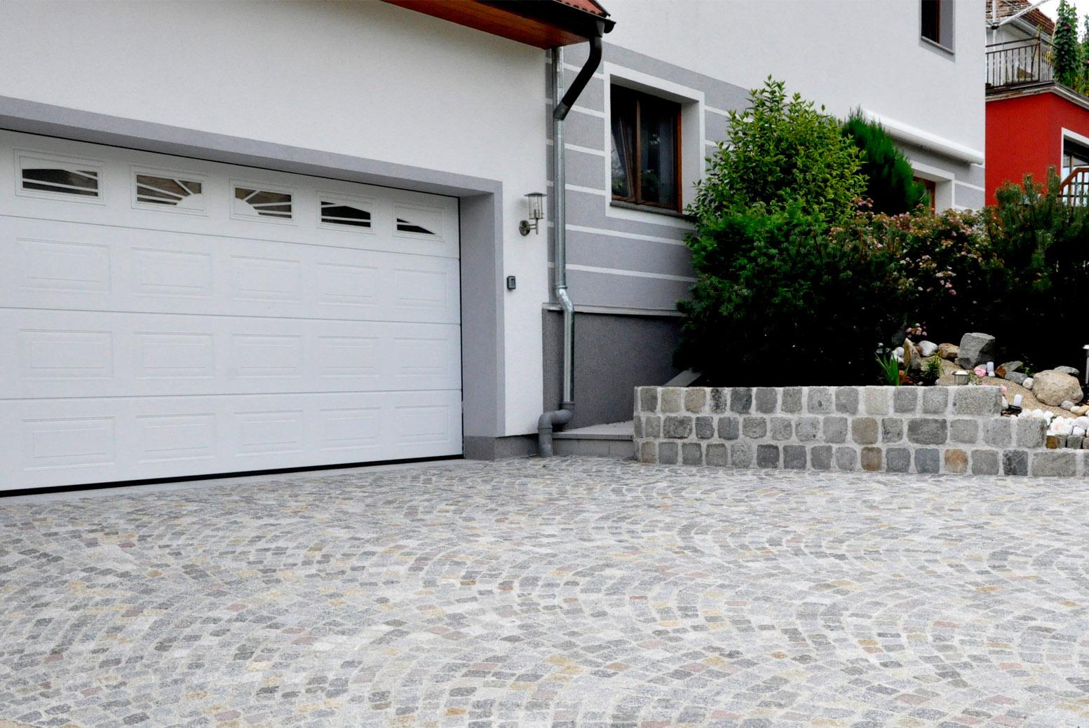 Garageneinfahrten, Garagenzufahrten, Strasse, Garage, Pflasterungen, Natursteinpflaster, Innviertel, Salzburg, Oberösterreich
