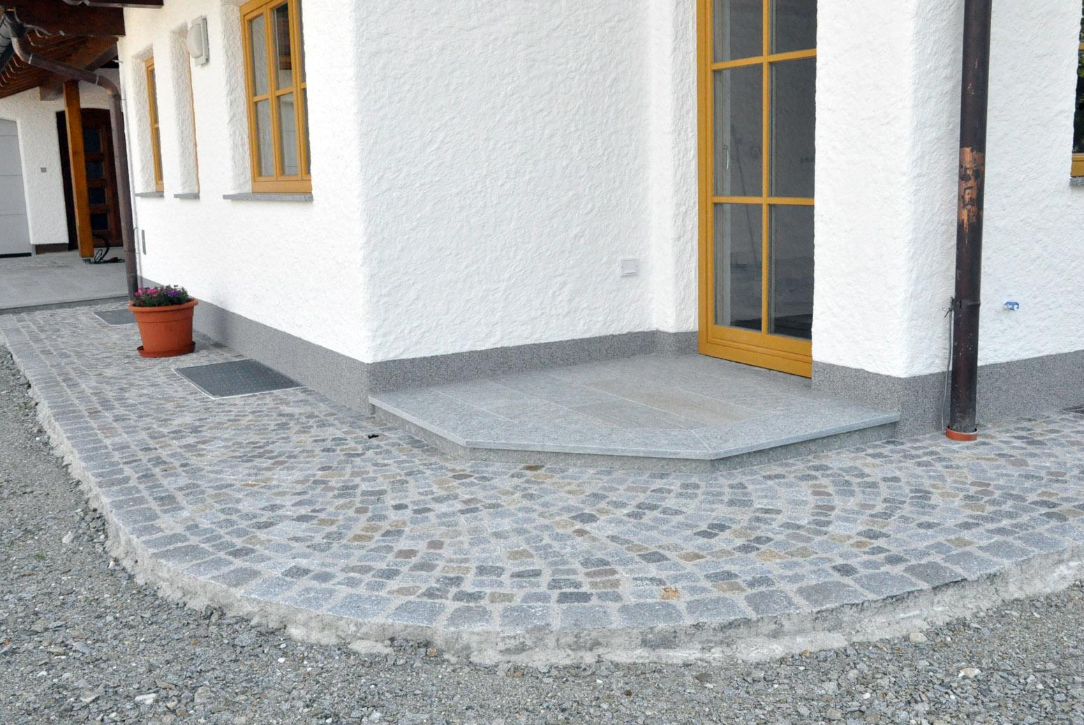 Gehwege, Wege, Gartenwege pflastern, Pflasterungen, Naturstein Gehwege, Innviertel, Salzburg, Oberösterreich